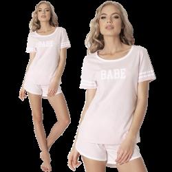 Aruelle Piżama Babe Short Pink