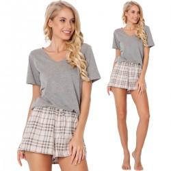 Piżama Lonette Short Beige
