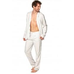 Piżama Lukas Sam-PY-189 Ecru