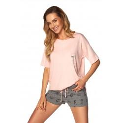 Piżama Monica SAL-PY-1168-II Różowa
