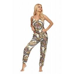 Piżama Donatella 01 Ecru