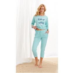 Piżama 2440 Alexa AW/20 - Kolor 01 - Miętowy