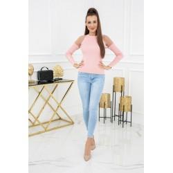 Vittoria Ventini Sweterek Eliza Tulle MCY02679 Flamingo