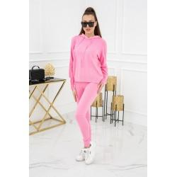 Vittoria Ventini Komplet dzianinowy Kim Pearl Buttons PU1121 Pink