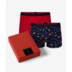 Atlantic Bokserki 2GMH-001 2-pack Gift Box Mix