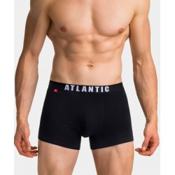 Atlantic Bokserki 3MH-011 3-pack Czarne