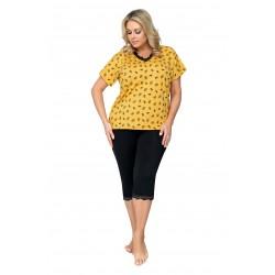 Donna Piżama Queen 3/4 Plus Size